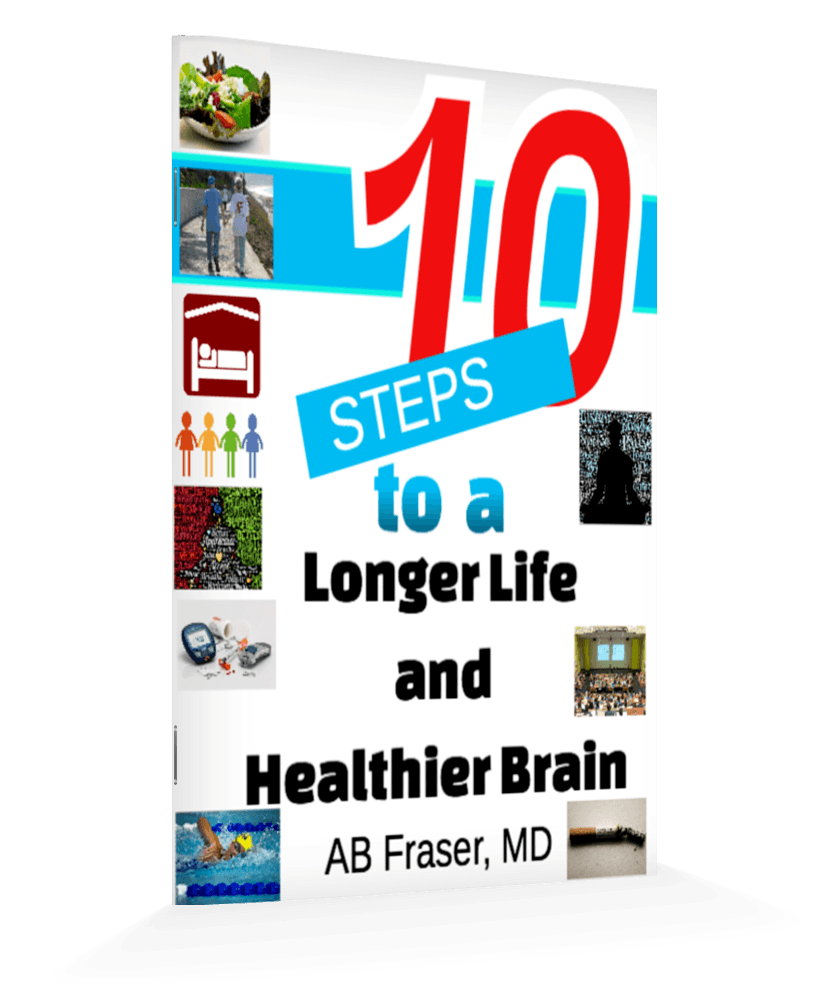 10 steps to a longer life and healthier brain