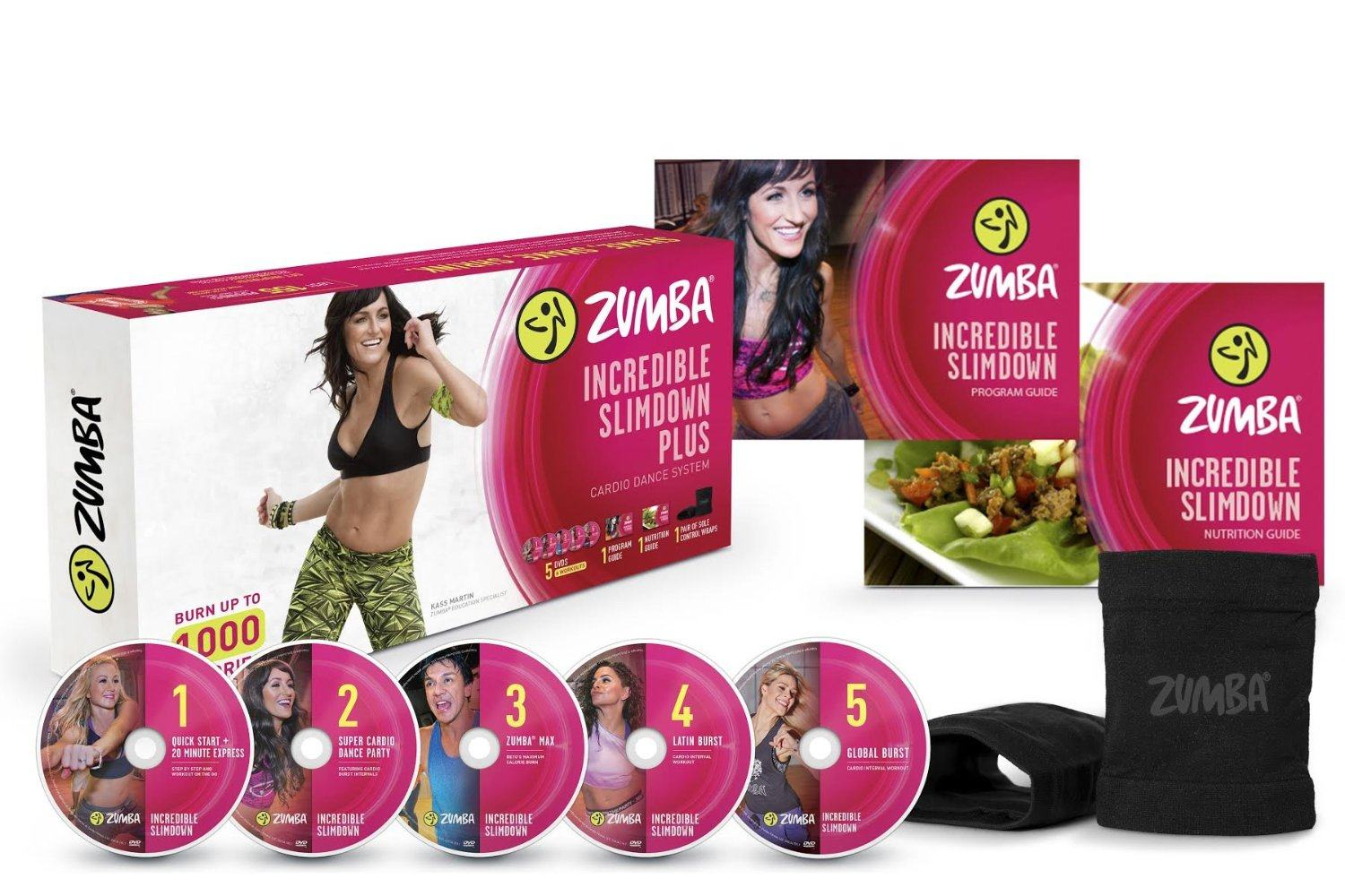 Zumba Incredible Slimdown DVD System