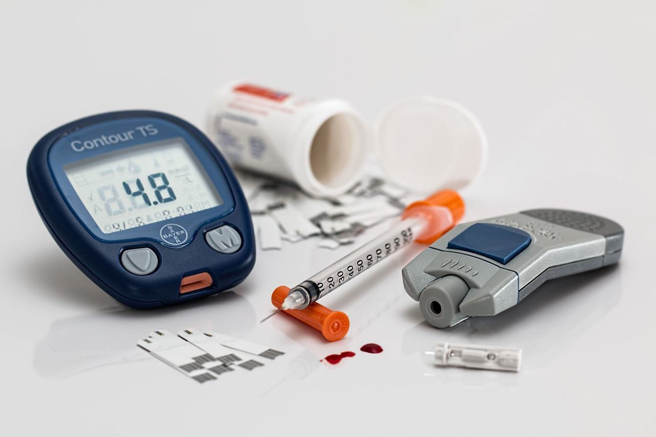 Blood sugar test equipment